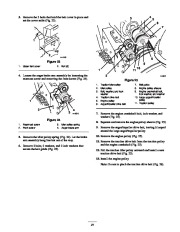 Toro 38053 824 Power Throw Snowthrower Owners Manual, 2003 page 21