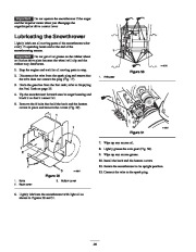 Toro 38053 824 Power Throw Snowthrower Owners Manual, 2003 page 24