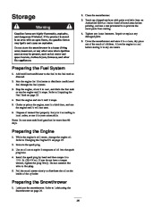 Toro 38053 824 Power Throw Snowthrower Owners Manual, 2003 page 26