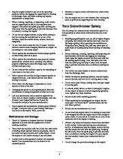Toro 38053 824 Power Throw Snowthrower Owners Manual, 2003 page 4