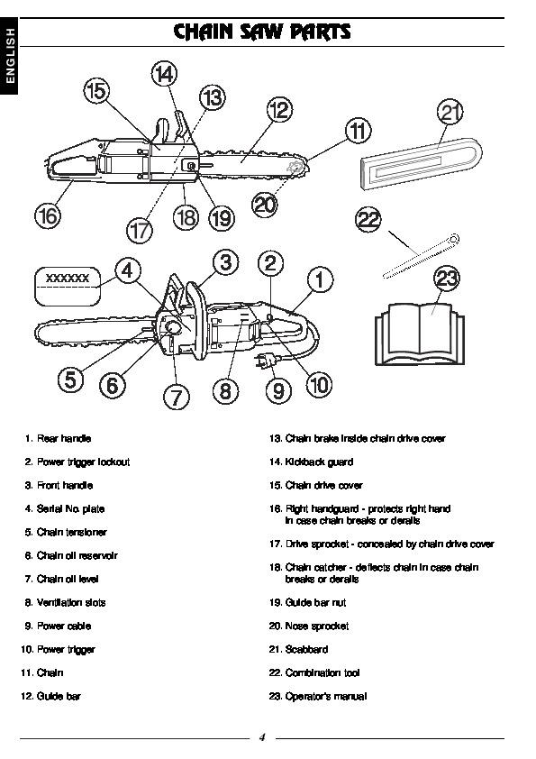 Husqvarna 316 Electric Chainsaw Owners Manual Manual Guide