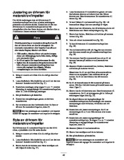 Toro 38053 824 Power Throw Snowthrower Owners Manual, 2002 page 23
