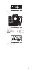 Toro 38053 824 Power Throw Snowthrower Owners Manual, 2002 page 7