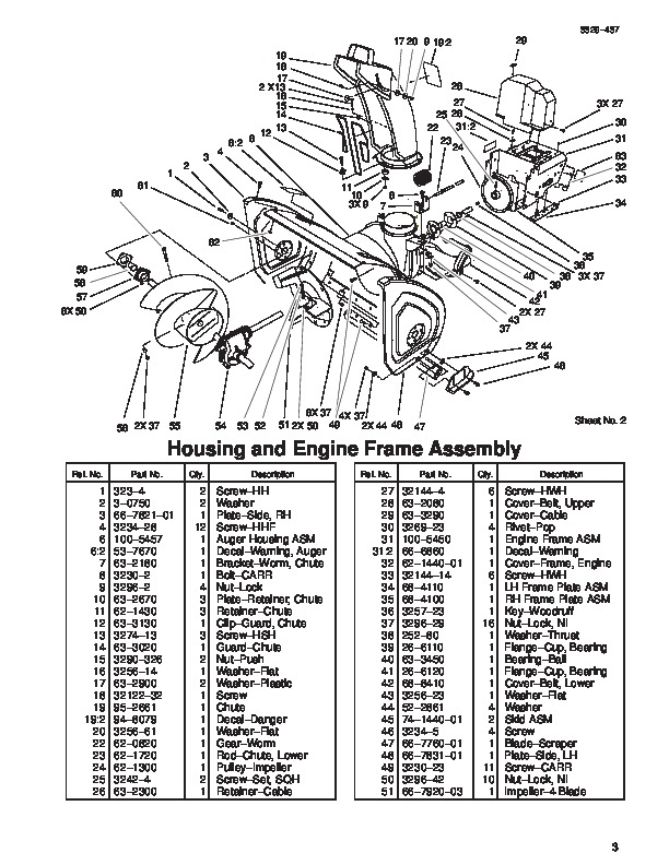 Atlas Snow Thrower Parts Diagram Com