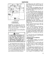 Toro 38054 521 Snowthrower Laden Anleitung, 1990 page 17