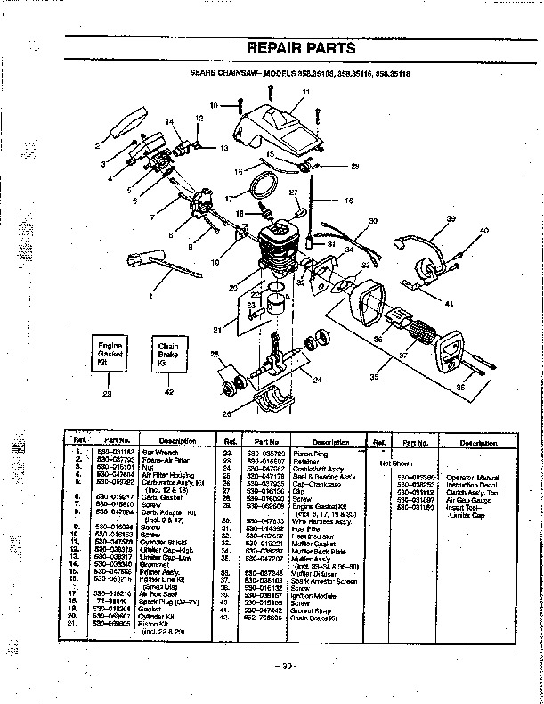 Craftsman Chainsaw Wiring Diagram on craftsman chainsaw repair manual