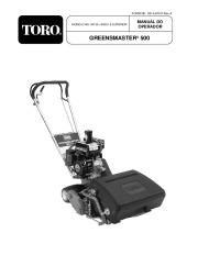 Toro 04130, 04215 Toro Greensmaster 500 Manual de Instruções, 2005 page 1