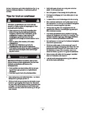 Toro 38053 824 Power Throw Snowthrower Eiere Manual, 2003 page 16