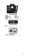 Toro 38053 824 Power Throw Snowthrower Eiere Manual, 2003 page 7