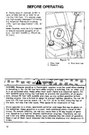 Toro 38054 521 Snowthrower Owners Manual, 1994 page 12