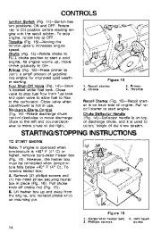 Toro 38054 521 Snowthrower Owners Manual, 1994 page 14