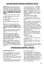 Toro 38054 521 Snowthrower Owners Manual, 1994 page 15