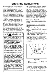 Toro 38054 521 Snowthrower Owners Manual, 1994 page 16