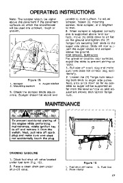 Toro 38054 521 Snowthrower Owners Manual, 1994 page 17