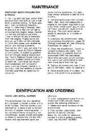Toro 38054 521 Snowthrower Owners Manual, 1994 page 24
