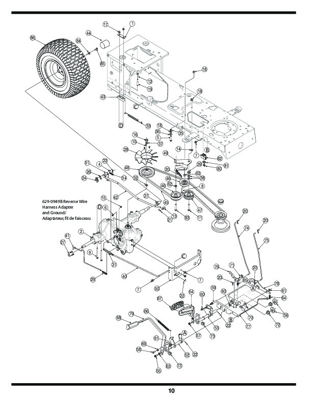 john deere l120 hydrostatic transmission diagram free wiring John Deere D110 Parts Catalog huskee lawn tractor parts manual imageresizertool john deere l120 hydrostatic transmission 2005 honda snowblower hydrostatic transmission