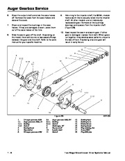 Toro 38053 824 Power Throw Snowthrower Service Manual, 2002 page 16