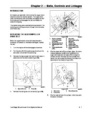 Toro 38054 521 Snowthrower Service Manual, 1991 page 21