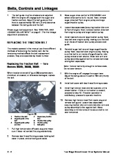 Toro 38054 521 Snowthrower Service Manual, 1991 page 22