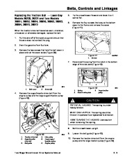 Toro 38054 521 Snowthrower Service Manual, 1992 page 23