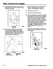 Toro 38053 824 Power Throw Snowthrower Service Manual, 2003 page 26
