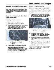 Toro 38054 521 Snowthrower Service Manual, 1991 page 27