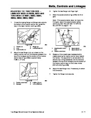 Toro 38054 521 Snowthrower Service Manual, 1991 page 31