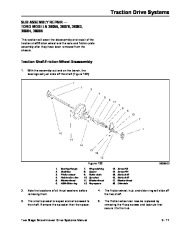 Toro 38054 521 Snowthrower Service Manual, 1992 page 49
