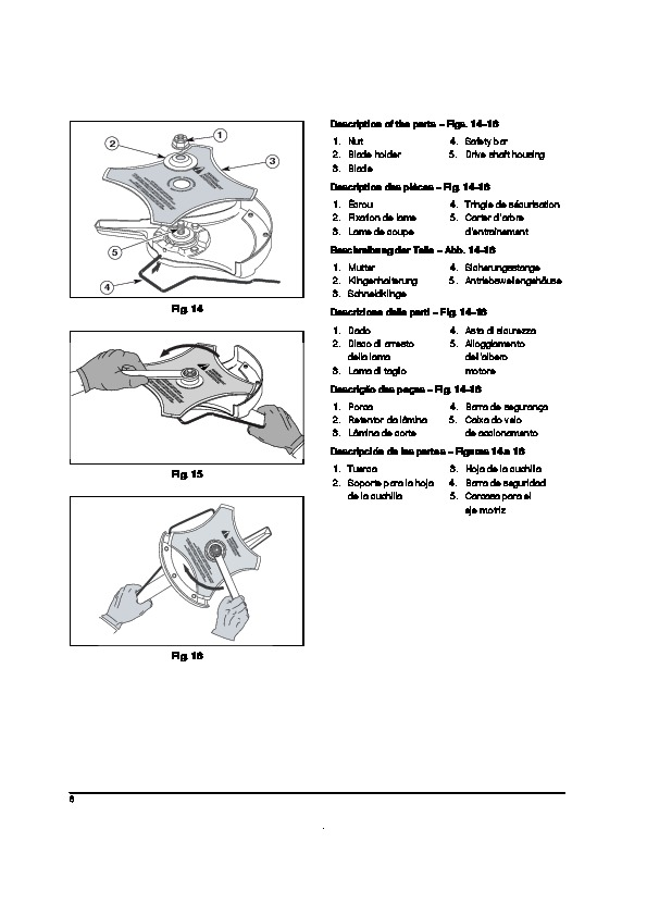 Huskee Mower Manuals : Mtd trimmer lawn mower owners manual