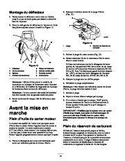 Toro 38053 824 Snowthrower Manuel des Propriétaires, 2000, 2001 page 14