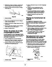 Toro 38053 824 Snowthrower Manuel des Propriétaires, 2000, 2001 page 22