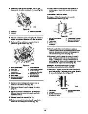 Toro 38053 824 Snowthrower Manuel des Propriétaires, 2000, 2001 page 23