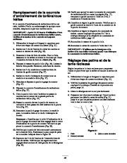 Toro 38053 824 Snowthrower Manuel des Propriétaires, 2000, 2001 page 25