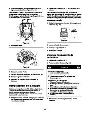 Toro 38053 824 Snowthrower Manuel des Propriétaires, 2000, 2001 page 27