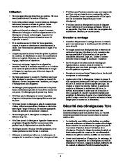 Toro 38053 824 Snowthrower Manuel des Propriétaires, 2000, 2001 page 4