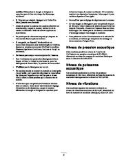 Toro 38053 824 Snowthrower Manuel des Propriétaires, 2000, 2001 page 5