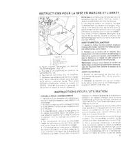 Toro 38052C 521 Snowthrower Manuel des Propriétaires, 1989 page 11