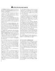 Toro 38052C 521 Snowthrower Manuel des Propriétaires, 1989 page 2