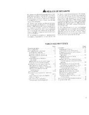 Toro 38052C 521 Snowthrower Manuel des Propriétaires, 1989 page 3
