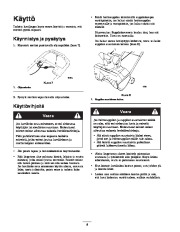 Toro 38026 1800 Power Curve Snowthrower Owners Manual, 2004, 2005 page 8