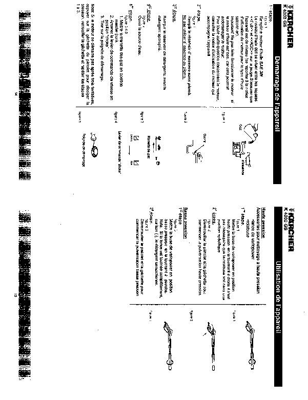 karcher pressure washer manual pdf