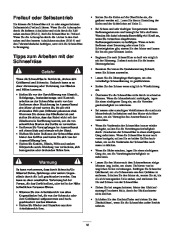 Toro 38053 824 Power Throw Snowthrower Laden Anleitung, 2003 page 18