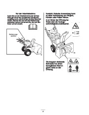 Toro 38053 824 Power Throw Snowthrower Laden Anleitung, 2003 page 6