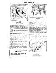 Toro 38054 521 Snowthrower Owners Manual, 1990 page 14