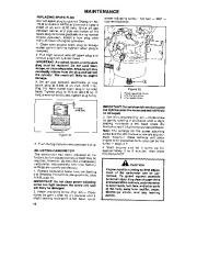 Toro 38054 521 Snowthrower Owners Manual, 1990 page 16