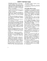 Toro 38054 521 Snowthrower Owners Manual, 1990 page 2