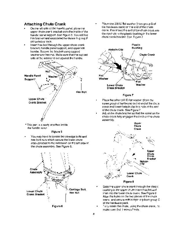 craftsman 30 inch snow blower manual