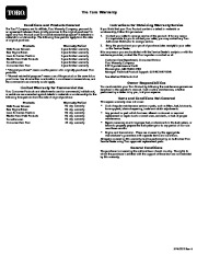 Toro 38026 1800 Power Curve Snowthrower Owners Manual, 2009 page 12
