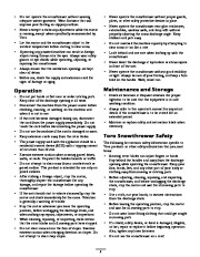 Toro 38026 1800 Power Curve Snowthrower Owners Manual, 2009 page 2