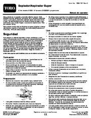 Toro 51593 Super Blower/Vacuum Manual del Propietario, 2010, 2011, 2012, 2013, 2014 page 1
